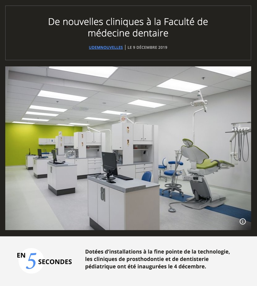 Inauguration cliniques FMD 2019