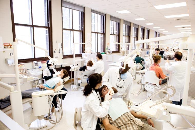 Études recherche scientifique vie étudiante faculté dons clinique